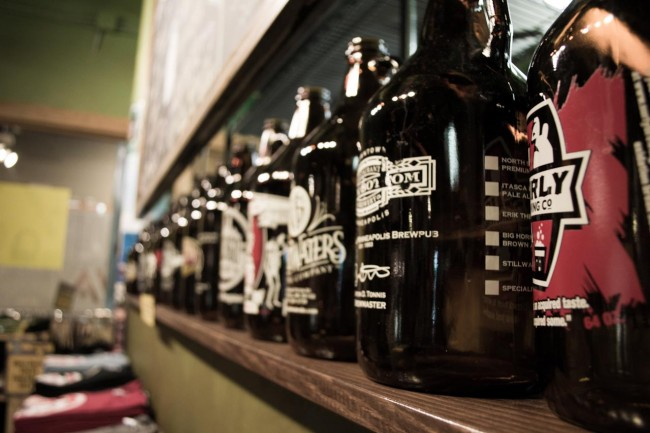 Fitger's Growler Sales