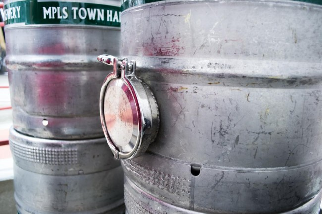 Modified Sankey Kegs