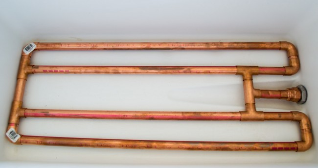 Copper Mash Tun Manifold